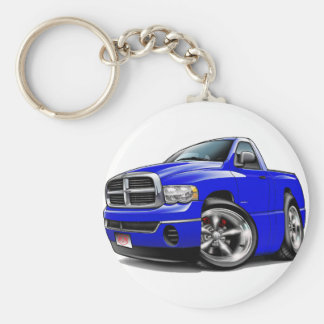 2003-08 Dodge Ram Blue Truck Keychain