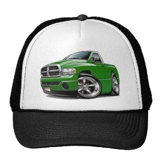 2003-08 Dodge Ram Green Truck Mesh Hats