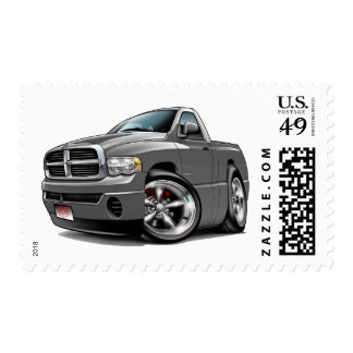 2003-08 Dodge Ram Grey Truck Postage