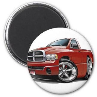 2003-08 Dodge Ram Maroon Truck Magnet