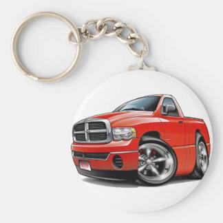 2003-08 Dodge Ram Red Truck Keychain