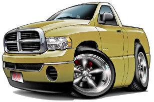 2ed459d5a41ad 2003-08 Dodge Ram Tan Truck Trucker Hat