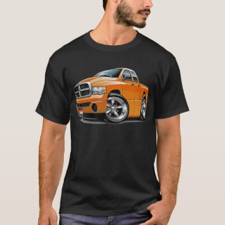 2003-08 Ram Quad Orange Truck T-Shirt