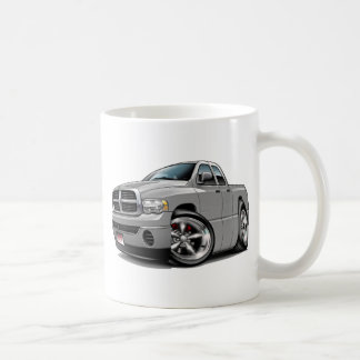 2003-08 Ram Quad Silver Truck Coffee Mug