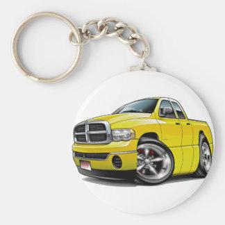 2003-08 Ram Quad Yellow Truck Keychain