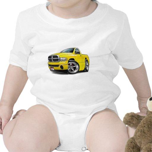 2003-09 camión del amarillo del espolón de Dodge Traje De Bebé