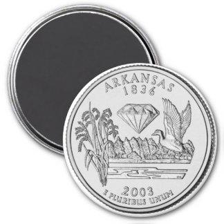 2003 Arkansas State Quarter magnet
