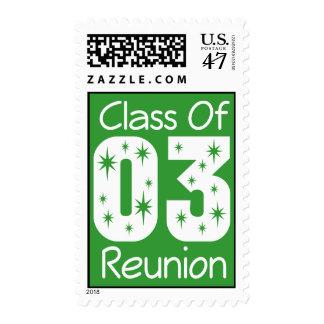 2003 Class Reunion Stamps