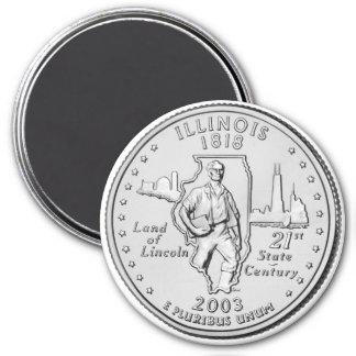 2003 Illinois State Quarter magnet