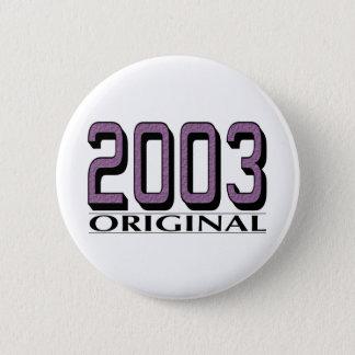 2003 Original Button