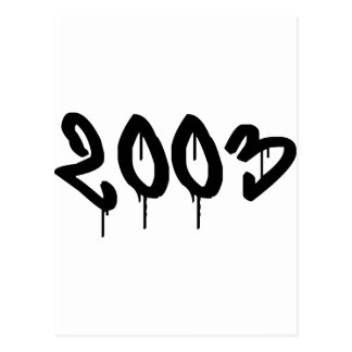 2003 POSTCARD