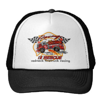 20040223043329_Photo2, redneck firetruck racing Trucker Hat
