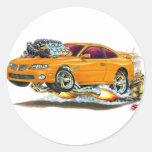 2004-06 coche del naranja de GTO Pegatinas