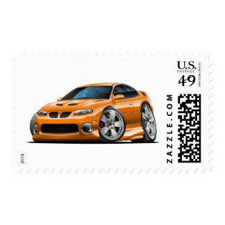 2004-06 coche del naranja de GTO Timbre Postal