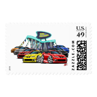 2004-06 escena del concesionario de coches de GTO Sello