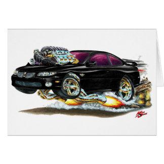 2004-06 GTO Black Car Card