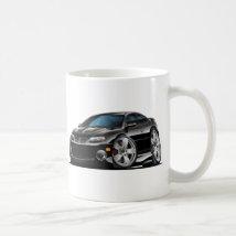2004-06 GTO Black Car Classic White Coffee Mug