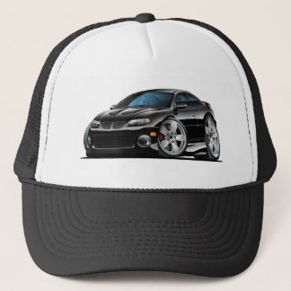 2004-06 GTO Black Car Trucker Hat