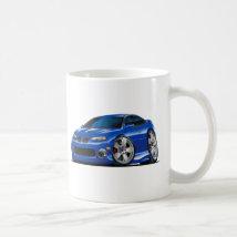2004-06 GTO Blue Car Coffee Mug