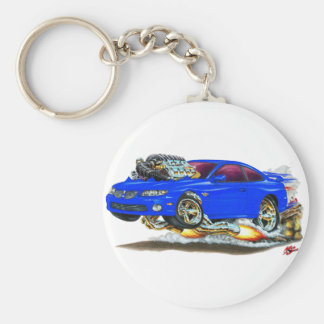 2004-06 GTO Blue Car Keychain