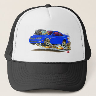 2004-06 GTO Blue Car Trucker Hat