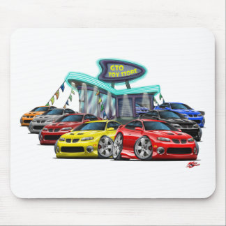 2004-06 GTO Car Dealer Scene Mouse Pad