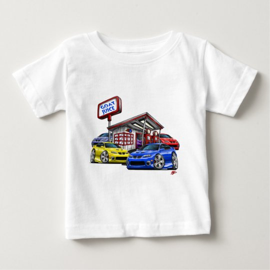 2004-06 GTO Gas Station Scene Baby T-Shirt