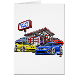 2004-06 GTO Gas Station Scene Card