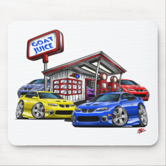 2004-06 GTO Gas Station Scene Mouse Pad