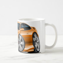 2004-06 GTO Orange Car Coffee Mug
