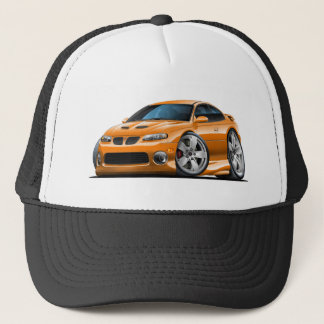 2004-06 GTO Orange Car Trucker Hat