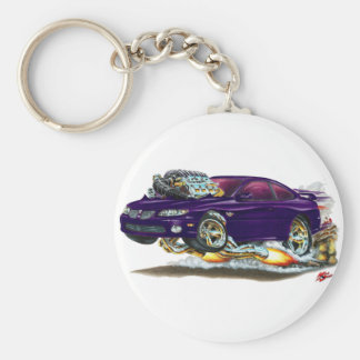 2004-06 GTO Purple Car Keychain