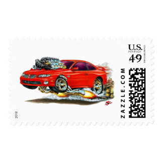 2004-06 GTO Red Car Postage Stamp