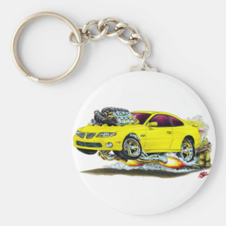 2004-06 GTO Yellow Car Keychain