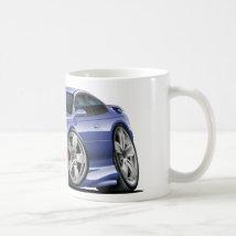 2004-06 Pontiac GTO Blue/Grey Car Classic White Coffee Mug