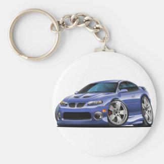 2004-06 Pontiac GTO Blue/Grey Car Keychain
