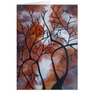 2004_Autumn_Moon Greeting Card