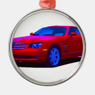 2004 Chrysler Crossfire Metal Ornament