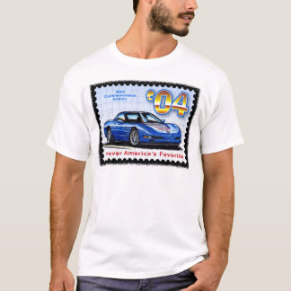 2004 Commemorative Edition Corvette T-Shirt