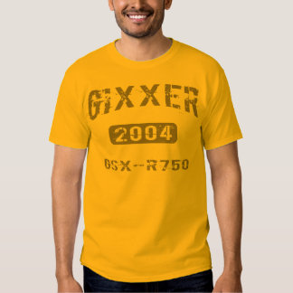 2004 GSX-R750 Apparel Tee Shirt