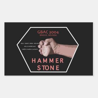 2004 Hammerstone Band Sticker