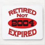 2004 Retirement Year Mousepads