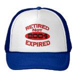 2004 Retirement Year Trucker Hats
