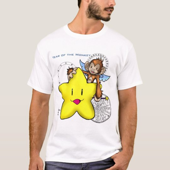 2004 Year of the Monkey! (star) T-Shirt