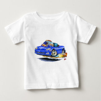 2005-10 Corvette Blue Convertible Baby T-Shirt