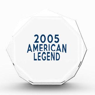 2005 American Legend Birthday Designs Award