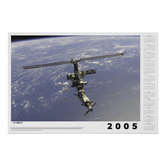 2005 Calendar: International Space Station Print