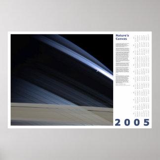 2005 Calendar: Nature's Canvas Poster