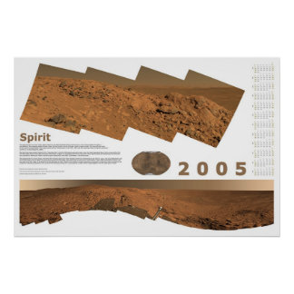 2005 Calendar: Spirit Poster