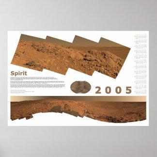 2005 Calendar: Spirit Posters